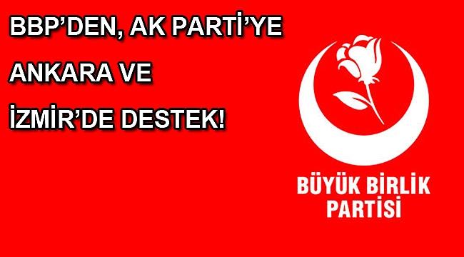 AK Parti ile BBP arasında işbirliği görüşmesi