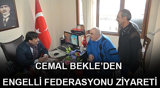 CEMAL BEKLE'DEN ENGELLİ FEDERASYONU ZİYARETİ