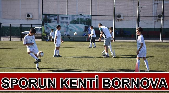 Sporun kenti Bornova
