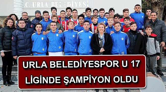 Urla Belediyespor U 17 Liginde Şampiyon oldu