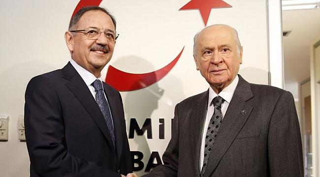 Devlet Bahçeli'den Mehmet Özhaseki'ye ziyaret