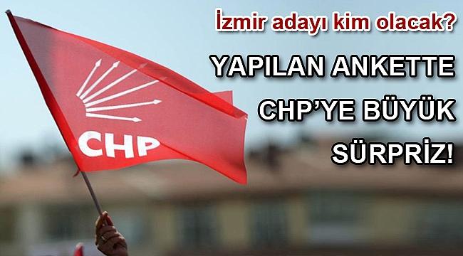 İzmir anketinde CHP'ye büyük sürpriz