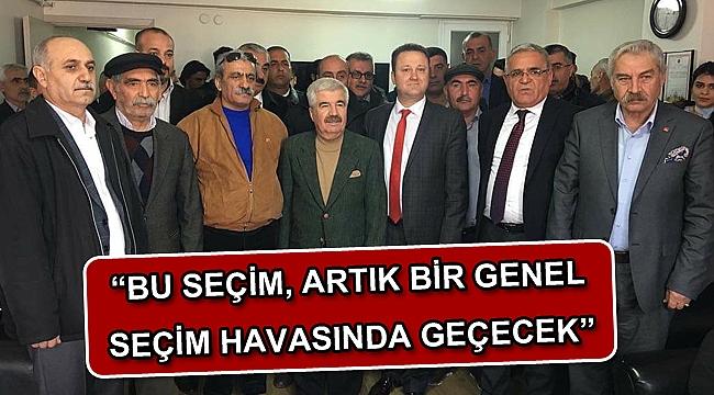 """""""BU SEÇİM, ARTIK BİR GENEL SEÇİM HAVASINDA GEÇECEK"""""""