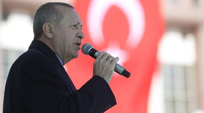 Cumhurbaşkanı Erdoğan'dan, Sincan'da önemli açıklamalar