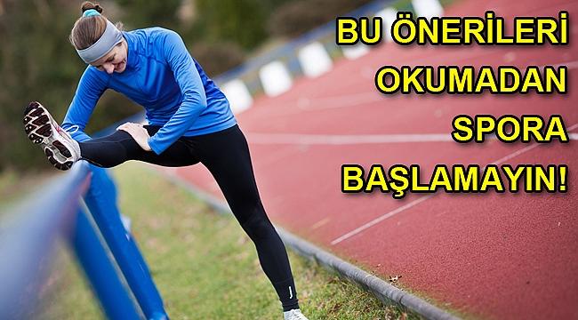 Spor yaparken yaralanmamak için 8 önemli kural!