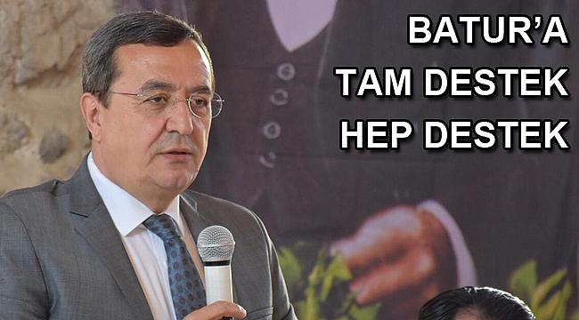 Amatör Spor Kulüpleri Batur'dan tesis ve destek istedi