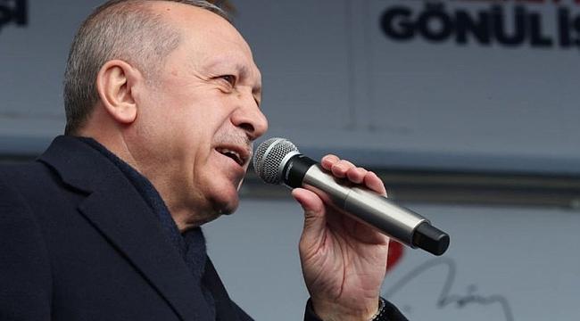 Cumhurbaşkanı Erdoğan'dan Ardahan'da önemli mesajlar