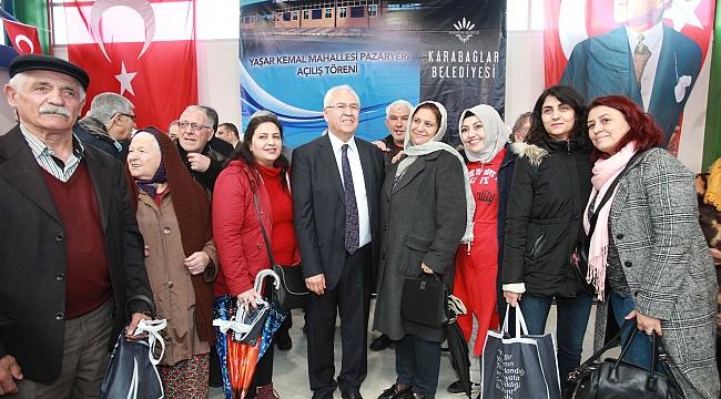 Yaşar Kemal Mahallesi, modern pazaryerine kavuştu