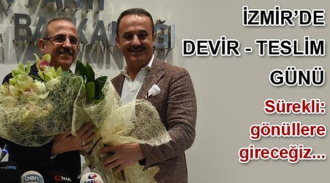 AK Parti İzmir İl Başkanlığında görev değişimi