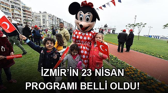 İzmir'de 23 Nisan, Kültürpark ve altı ilçede kutlanacak