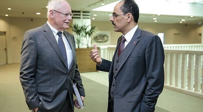 ABD Büyükelçiliği'nden açıklama: Jeffrey'nin görüşmeleri olumlu geçti