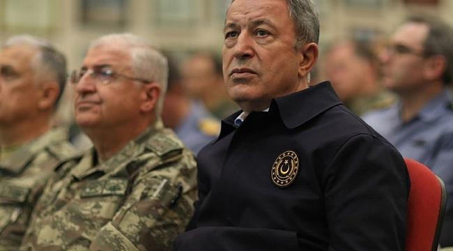 Bakan Akar'dan Ege ve Doğu Akdeniz açıklaması