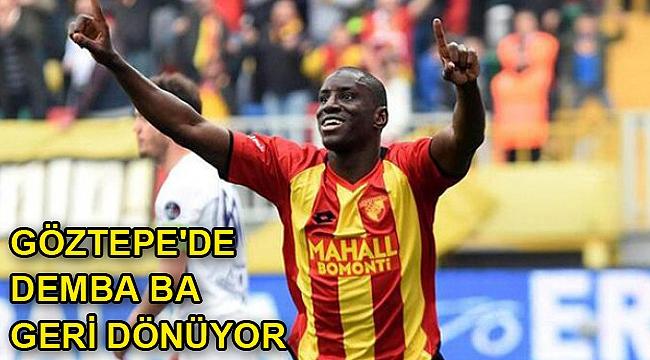 Göztepe'de Demba Ba geri dönüyor