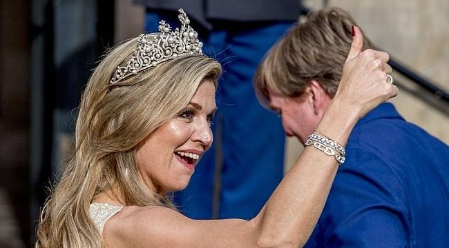 Hollanda kraliçesinin çılgın dansına sansür!