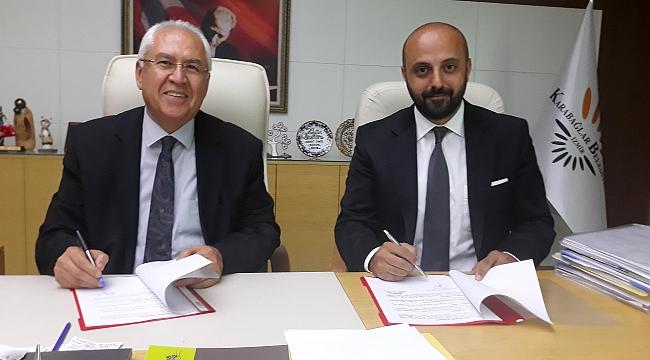 Karabağlar Belediyesi ile Harita ve Kadastro Mühendisleri Odası arasında işbirliği protokolü