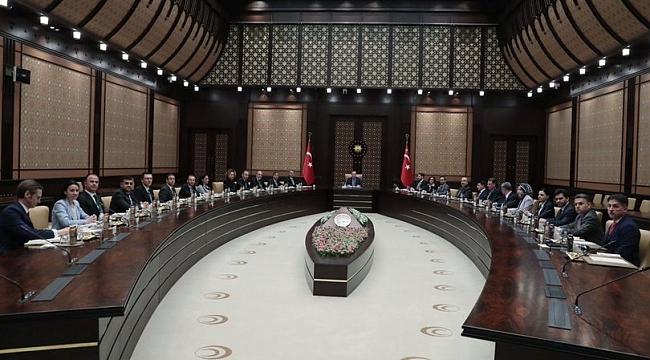 TÜSİAD Yönetim Kurulu Cumhurbaşkanı Erdoğan'ı ziyaret etti