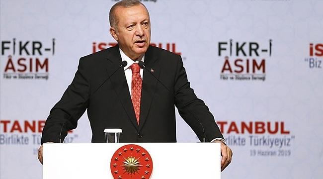 Cumhurbaşkanı Erdoğan: Kırmızı, gri, şu, bu liste demedik hepsini temizledik