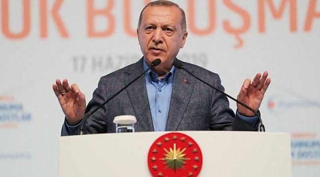 Cumhurbaşkanı Erdoğan: Kişinin kişiye kırgınlığı olabilir ama davaya kırgınlık asla olamaz