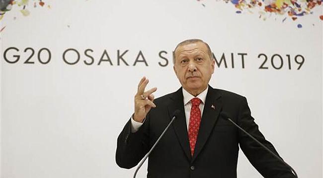 Cumhurbaşkanı Erdoğan: Yaptırım olmayacağını sayın Trump'tan duymuş olduk