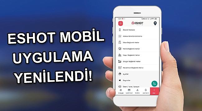 ESHOT mobil uygulama yenilendi