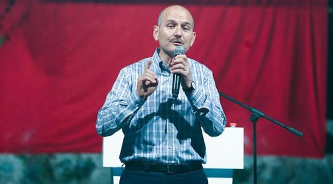 İçişleri Bakanı Süleyman Soylu, Yeşilköy'de vatandaşlarla buluştu