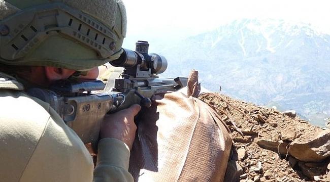 Kuzey Irak'ta saldırı girişimindeki 2 terörist öldürüldü