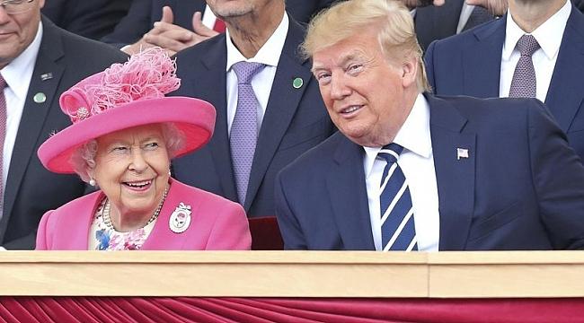 Trump'tan Kraliçe ile ilgili ilginç detay!