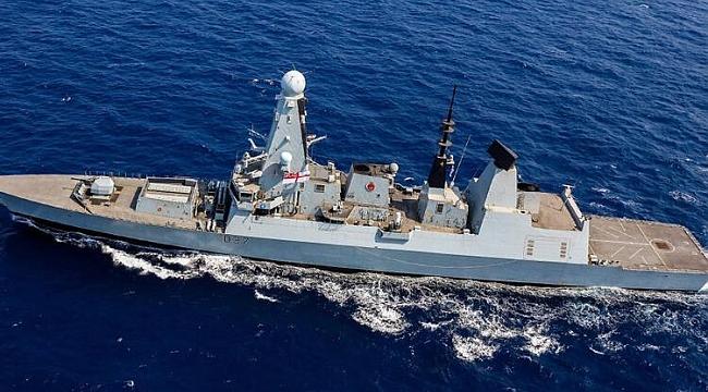 İngiltere'den İran hamlesi! Savaş gemisi Hürmüz Körfezi'ne ulaştı