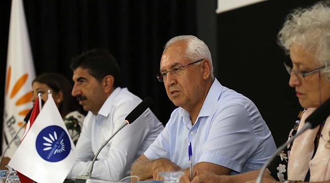 """Karabağlar'da stratejik planda """"ortak akıl"""" dayanışması"""