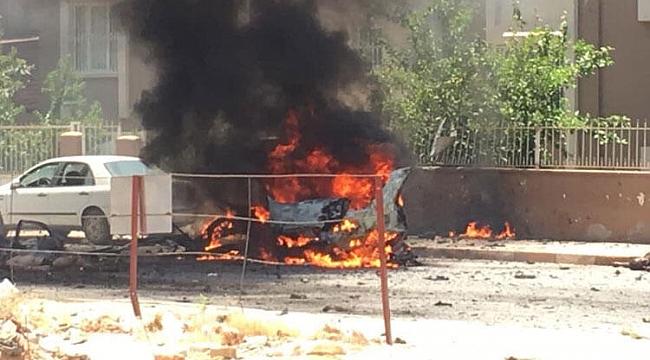 Reyhanlı'da otomobilde patlama: 2 ölü