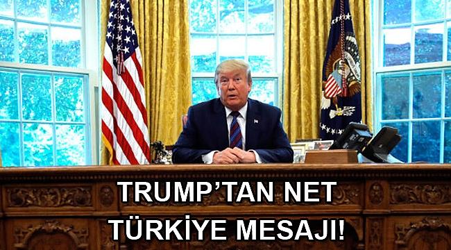 Trump'tan S-400 çıkışı... Türkiye'yi suçlamıyorum
