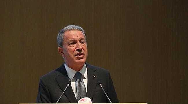 Bakan Akar: 'YPG'nin çekildiğine dair bilgi var, teyide muhtaç. Bizzat görmek istiyoruz'