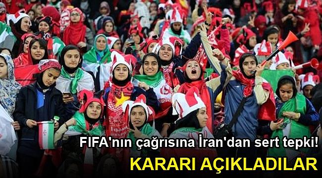 FIFA'nın çağrısına İran'dan sert tepki! Kararı açıkladılar