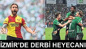 İzmir'de derbi heyecanı