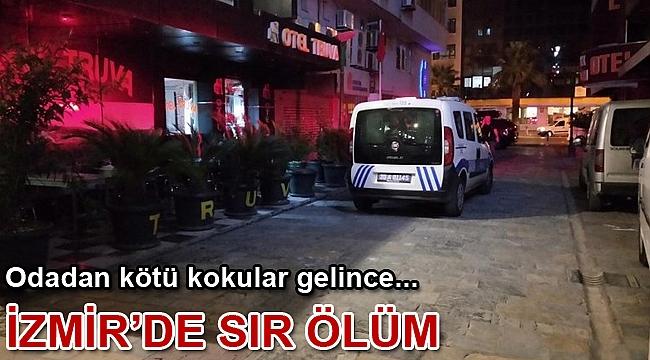 İzmir Konak'ta sır ölüm