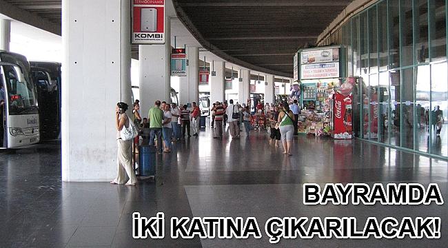 İzmir Otogarı'nda bayram tatilinde otobüsler iki katına çıkarılacak