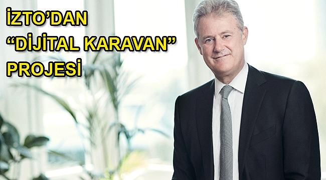 """İZTO'dan """"Dijital Karavan"""" Projesi"""