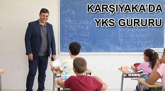 Karşıyaka'da YKS gururu