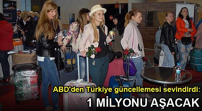 ABD'den Türkiye güncellemesi sevindirdi: 1 milyonu aşacak