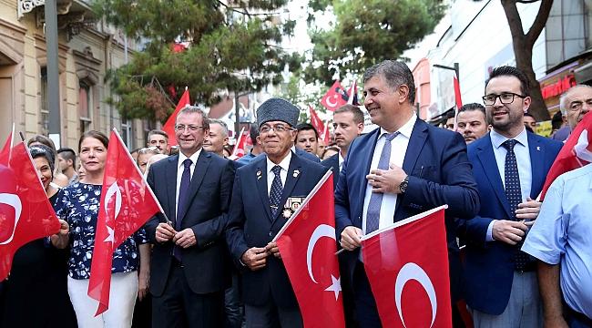 Karşıyaka'da 'Gaziler Günü' kutlandı