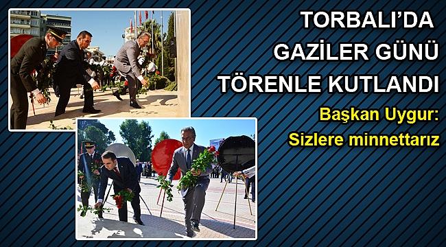 Torbalı'da Gaziler Günü törenle kutlandı