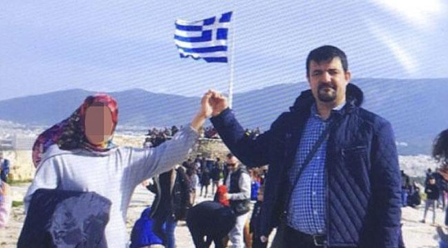 Yunanistan'a kaçtı! Bu pozla birlikte bakın neler yazdı…