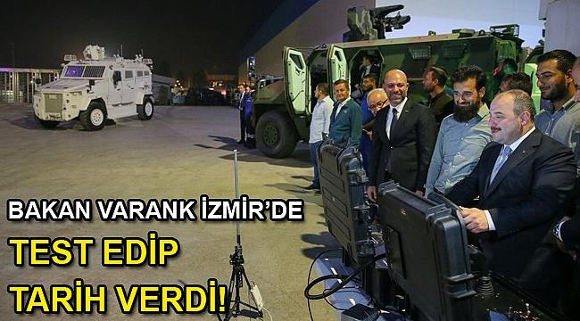 Bakan Varank'tan, BMC'nin İzmir'deki Pınarbaşı tesislerine ziyaret