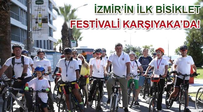 İzmir'in ilk Bisiklet Festivali Karşıyaka'da!
