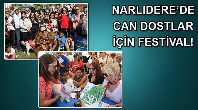 Narlıdere'de can dostlar için festival!