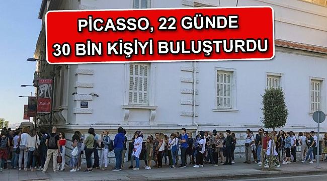 Picasso, 22 günde 30 bin kişiyi buluşturdu