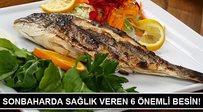 SONBAHARDA SAĞLIK VEREN 6 ÖNEMLİ BESİN!