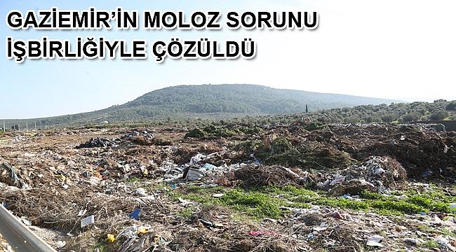 Gaziemir'in molozları Çakaltepe'ye…