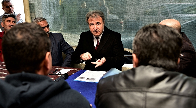 Başkan İduğ, Kavaklıdere'de vatandaşlarla buluştu