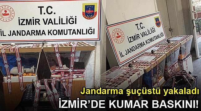 İzmir Bornova'da çay ocaklarına kumar baskını